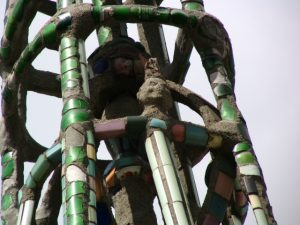 Watts Towers: Smiling Simon