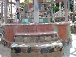 Watts Towers: wedding cake