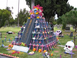 Day of the Dead 2008: Iraq Afghan War Dead altar