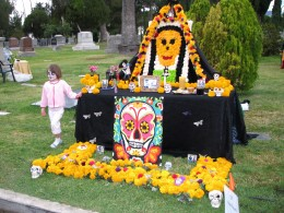 Day of the Dead 2008: girl in the pink jacket