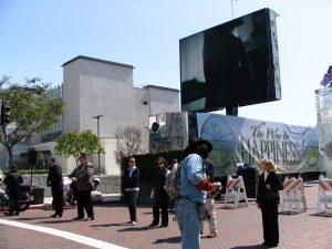 Hollywood Antiwar March: Thin Blue Line