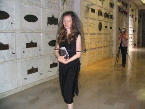 Rudolph Valentino 2008: Lady in Black