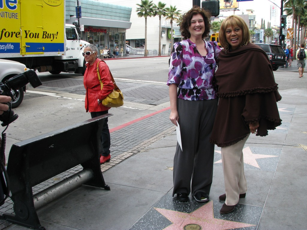 Claudette Robinson and Friend