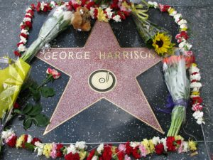 George Harrison Hollywood Star