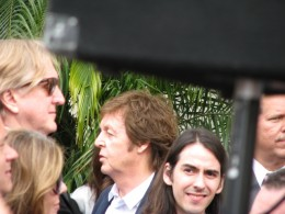 George Harrison Hollywood Star: T Bone Burnett, Paul McCartney, Dhani Harrison