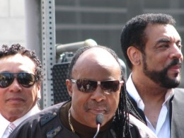 The Miracles Hollywood Star: Smokey Robinson, Stevie Wonder, Billy Griffin