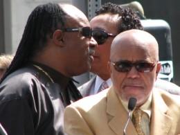 The Miracles Hollywood Star: Stevie Wonder, Smokey Robinson, Berry Gordy
