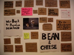 "Alejandro Diaz ""Bean & Cheese"" BCAM"
