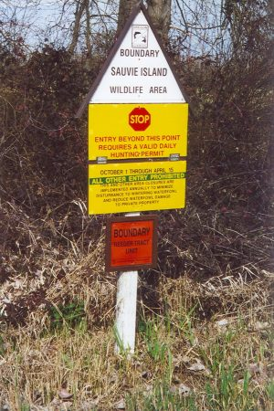 Boundary Sauvie Island Wildlife Area
