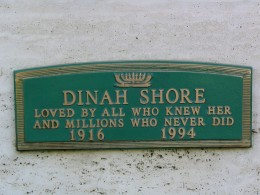 Dinah Shore: Loved by all who knew her and millions who never did