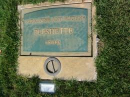 Geraldine and Eugene Pleshette: Lovers