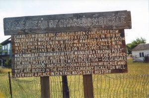 Homestead of Charles N Bickle