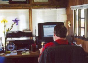 John Varley at work