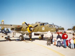 Mitchell B-25 bomber HEAVENLY BODY, 2