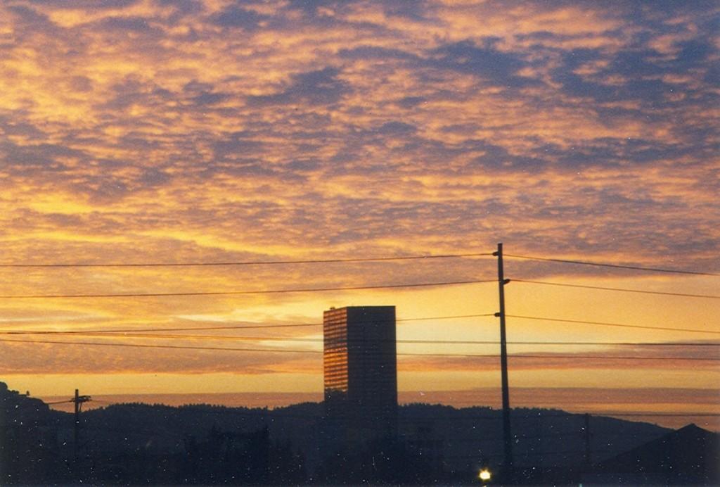 Monte Carlo apartment sunset