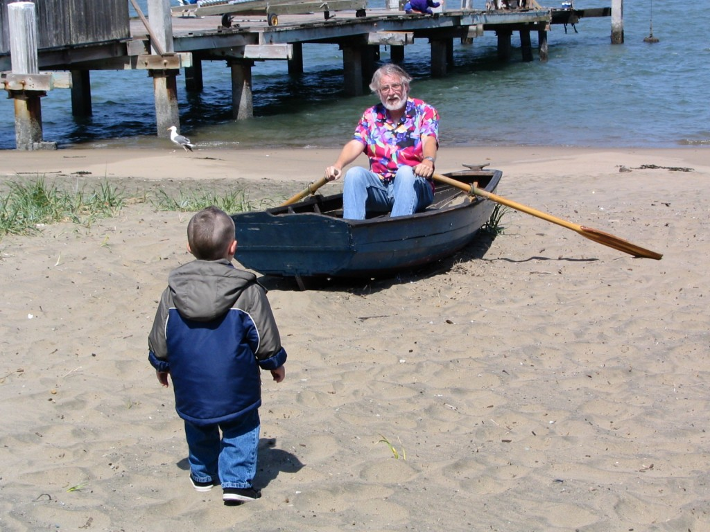 two boys and a boat 2