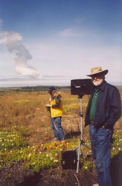 John Varley at Vandenberg after a launch