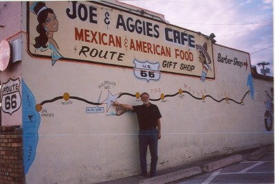 Rt. 66: John Varley at Joe & Aggie's Cafe