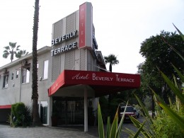 Rt. 66: West Hollywood, Beverly Terrace Hotel