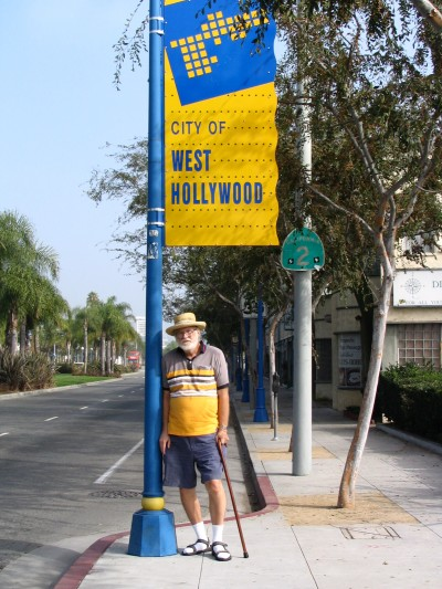 Rt. 66: West Hollywood sign, John Varley