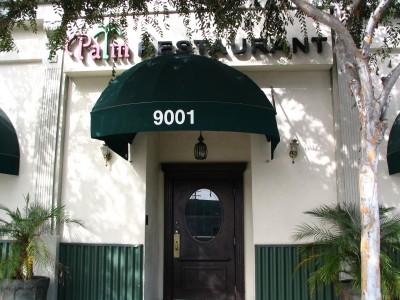 Rt. 66: West Hollywood, Palm Restaurant