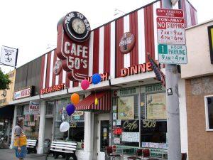 Rt. 66: West LA: Café 50's