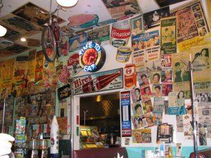 Rt. 66: West LA: Inside Café 50's