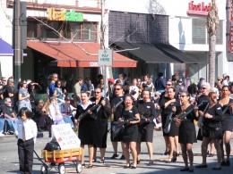 2008 Doo-Dah Parade: Dead Robert Palmer Girls