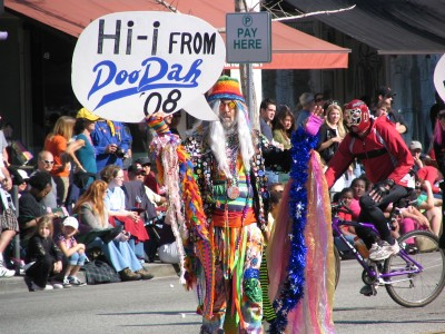 2008 Doo-Dah Parade: Hi i from DooDah