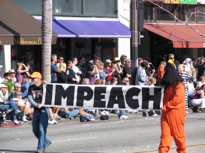 2008 Doo-Dah Parade: IMPEACH