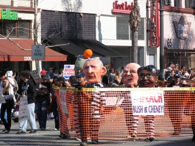 2008 Doo-Dah Parade: Impeach Bush and Cheney