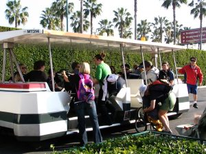 Disneyland and California Adventure Part 1: Tram