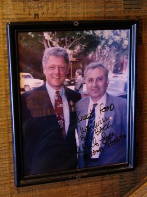 Down LA River Part 1: Bill Clinton photo