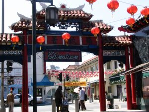 Down LA River Part 1: Chinatown entrance