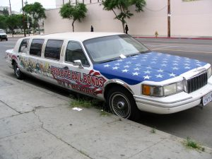 Down LA River Part 2: Absolute Bail Bonds limo