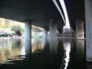 Down LA River Part 7: Hollenbeck Park under the bridge