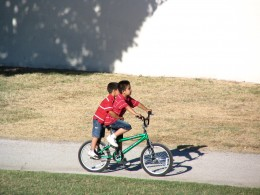 Down LA River Part 8: 2 boys on a bike