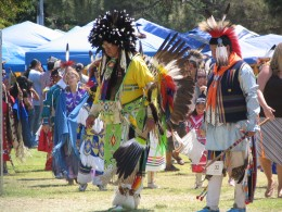 Down LA River Part 9: pow-wow Intertribal dance 1