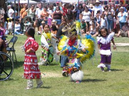 Down LA River Part 9: pow-wow little tot dancers