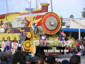 Rt. 66: 2008 Tournament of Roses Parade: circus comes to town 1