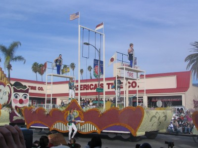 Rt. 66: 2008 Tournament of Roses Parade: circus comes to town 3