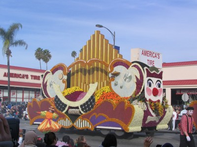Rt. 66: 2008 Tournament of Roses Parade: circus comes to town 4
