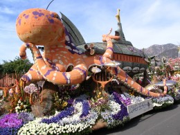 Rt. 66: 2008 Tournament of Roses Parade: valediction, Disney float back