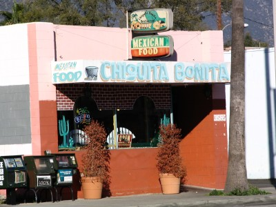 Rt. 66: Colorado Blvd: Chiquita Bonita Mexican Café