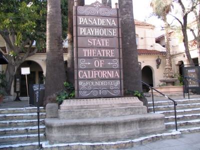 Rt. 66: Colorado Blvd: Pasadena Playhouse