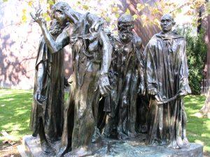 Rt. 66: Highland Park to Pasadena: Norton Simon, The Burghers of Calais