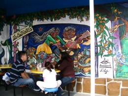 Rt. 66: Highland Park to Pasadena: mural, La Estrella