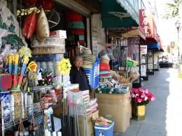 Rt 66: LA: Chinatown variety store
