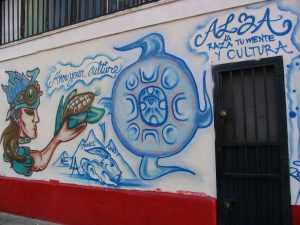 Rt 66: LA: mural know your culture