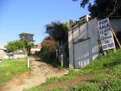 Rt 66: South El Sereno, Montecito Heights, Monterey Hills: lots for sale
